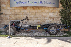Automobile Museum in Amman Stock Image