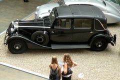 Automobile nel museo tecnico a Praga 5 Immagini Stock Libere da Diritti
