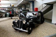 Automobile nel museo tecnico a Praga 4 Fotografia Stock