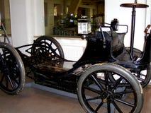 Automobile nel museo tecnico a Praga 3 Immagini Stock