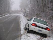 Automobile nella fossa Fotografie Stock Libere da Diritti