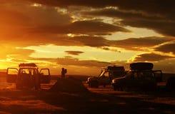 Automobile nella spedizione Fotografie Stock
