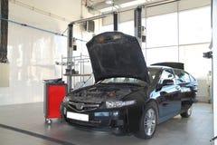 Automobile nera Fotografia Stock