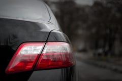 Automobile nera Immagine Stock Libera da Diritti
