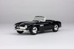 Automobile nera del giocattolo Fotografia Stock Libera da Diritti