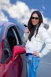 Automobile neuve Photo stock