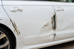 Automobile nociva Fotografia Stock