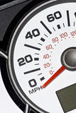 An automobile odometer Royalty Free Stock Photography