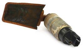Automobile oil filter Stock Photo