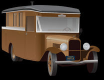 Automobile, Oldtimer, Camper, Truck Royalty Free Stock Photography