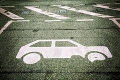Automobile parking Stock Photo