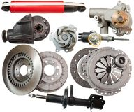 Automobile  parts Stock Photo