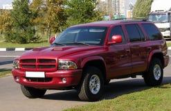 Automobile pesante di SUV Fotografie Stock Libere da Diritti