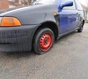 Automobile piana Fotografia Stock Libera da Diritti