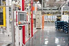 Automobile Plant Assembly Shop Stock Images