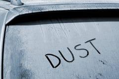 Automobile polverosa Fotografie Stock