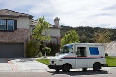 Automobile postale fotografia stock libera da diritti