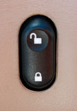 Automobile Power Door Lock Switch Stock Photos