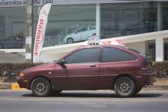 Automobile privée de Ford Fiesta American de voiture de berline Photo libre de droits