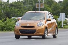 Automobile privata della raccolta, Nissan March Immagine Stock
