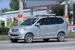 Automobile privata di Toyota Avanza Fotografie Stock