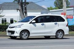 Automobile privata di Toyota Avanza Fotografia Stock Libera da Diritti
