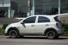 Automobile privata Nissan March di Eco Immagine Stock Libera da Diritti