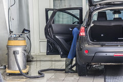 Automobile pulita Fotografia Stock