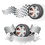 Automobile race element Stock Photos