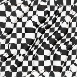 Automobile racing flag Stock Photos