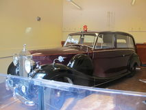 Automobile reale, regina Elizabeth 2 immagini stock libere da diritti