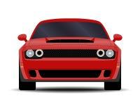 Automobile realistica del muscolo royalty illustrazione gratis