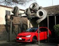 Automobile recentemente lavata Fotografie Stock