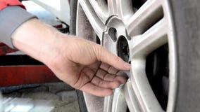 Automobile repair shop stock video footage
