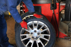 Automobile Repair Shop Stock Photography