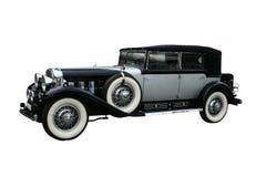 Automobile retro su bianco Fotografie Stock