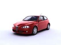 Automobile rossa Immagini Stock
