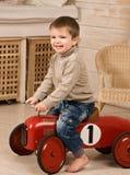 Automobile rossa. Fotografia Stock Libera da Diritti