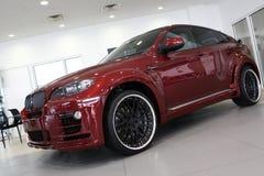 Automobile rossa Immagine Stock Libera da Diritti
