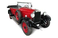 Automobile rossa classica del cabriolet Fotografia Stock Libera da Diritti