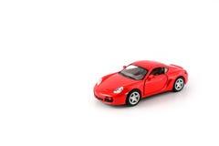 Automobile rossa del giocattolo Immagini Stock