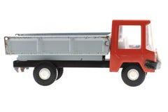 automobile rossa del giocattolo del metallo Fotografie Stock