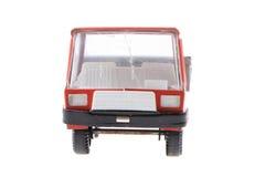 automobile rossa del giocattolo del metallo Immagine Stock Libera da Diritti