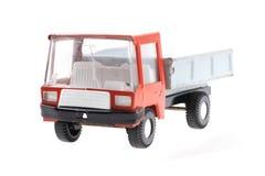 automobile rossa del giocattolo del metallo Fotografia Stock