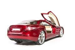 Automobile rossa di modello di sport. Raccoglibile. Fotografia Stock Libera da Diritti