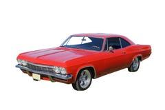 Automobile rossa luminosa del muscolo Fotografie Stock