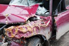 Automobile rotta Fotografie Stock