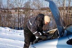 Automobile rotta Immagini Stock