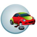 Automobile rotta Fotografia Stock