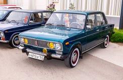Automobile russa d'annata Lada-2106 fotografia stock